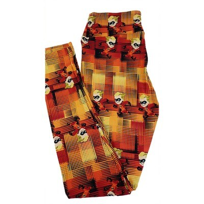 LuLaRoe One Size OS Disney from Incredibles Dashiell Parr Leggings fits sizes 2-10
