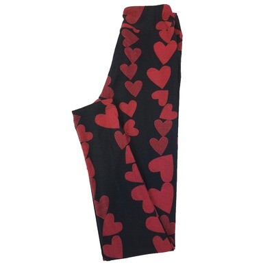 LuLaroe Tween Valentine Adult Leggings Fits Adult Sizes 00-0