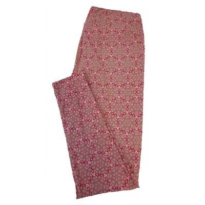 LuLaRoe Tall Curvy TC Geometric Mandala Polka Dot Leggings fits sizes 12-18