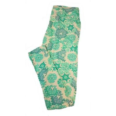 LuLaRoe Tall Curvy TC Mandala Leggings fits sizes 12-18