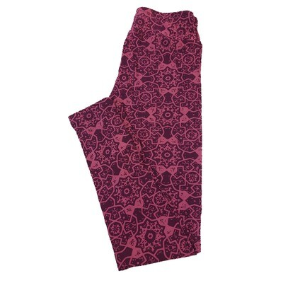 LuLaRoe One Size OS Mandalas Leggings fit Sizes 2-10