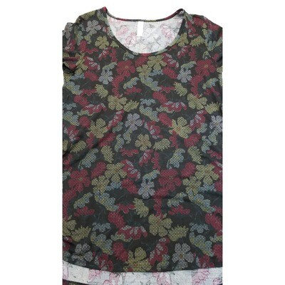 LuLaRoe PERFECT Tee X-Small XS Shirt fits Womens Sizes 4-10