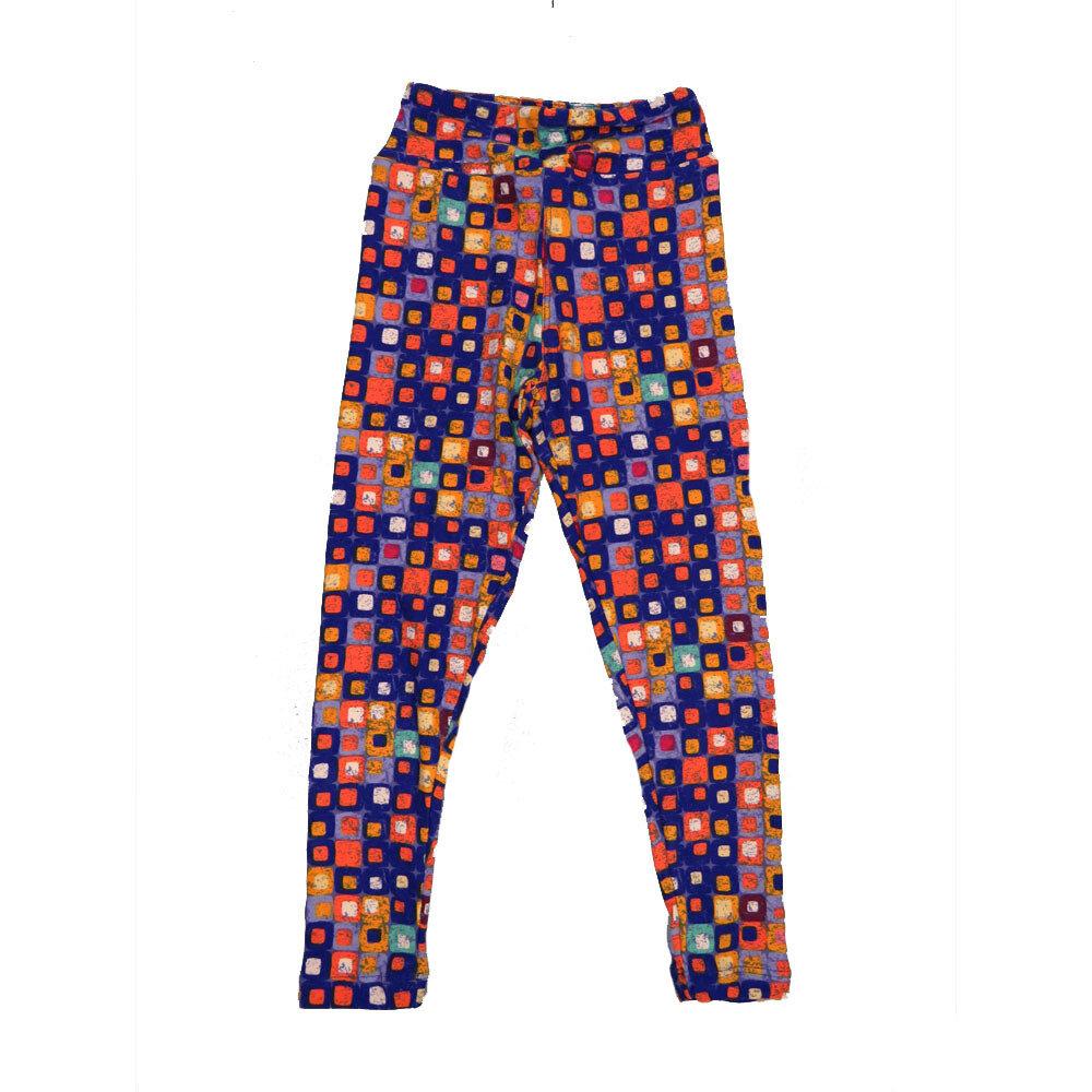 LuLaRoe Kids Small-Medium Geometric Polka Dot Leggings ( S/M fits kids 2-8 ) SM-1004-K