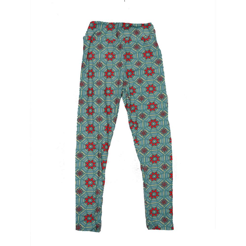 LuLaRoe Kids Small-Medium Geometric Polka Dot Leggings ( S/M fits kids 2-8 ) SM-1004-S