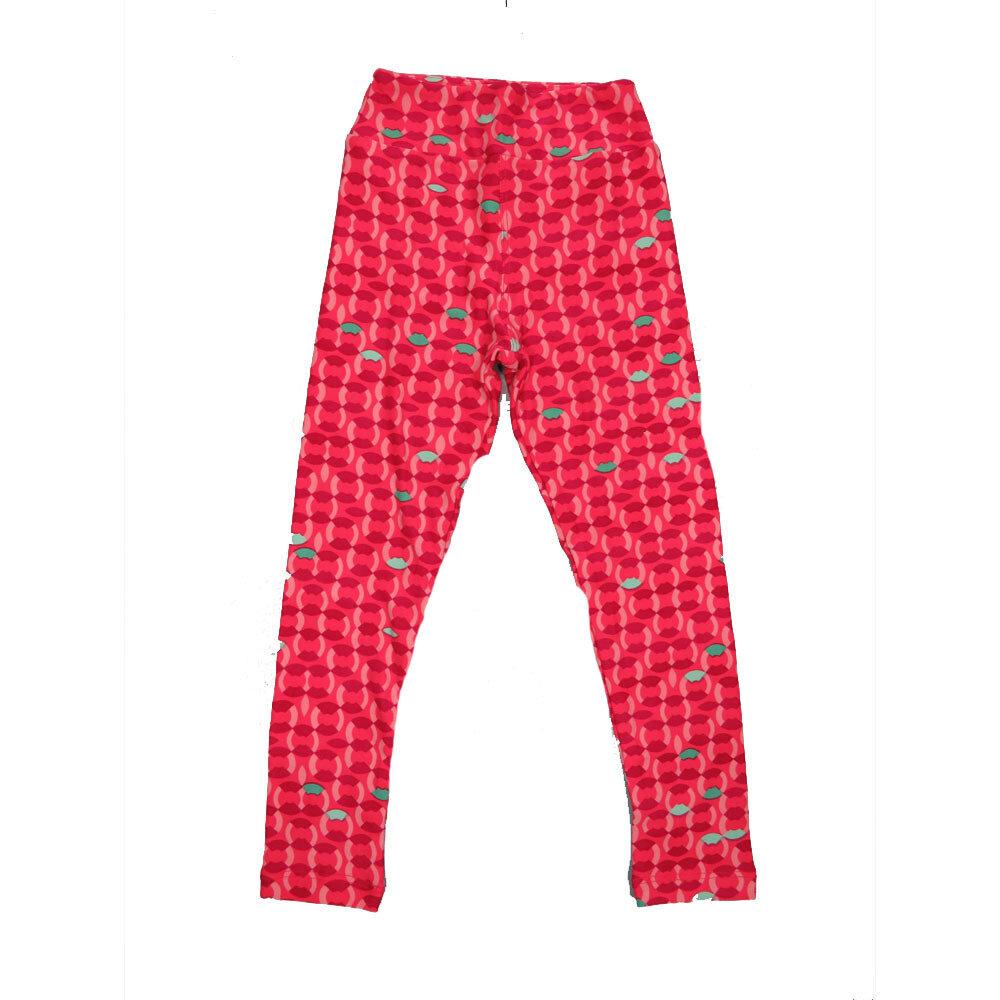 LuLaRoe Kids Small-Medium Geometric Stripe Leggings ( S/M fits kids 2-8 ) SM-1004-W