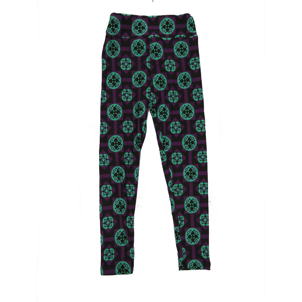LuLaRoe Kids Small-Medium Geometric Polka Dot Leggings ( S/M fits kids 2-8 ) SM-1004-Z