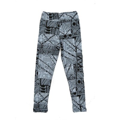 LuLaRoe Kids Small-Medium Geometric Leggings ( S/M fits kids 2-8 ) SM-1004-I