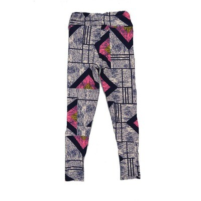 LuLaRoe Kids Small-Medium Geometric Leggings ( S/M fits kids 2-8 ) SM-1008-G