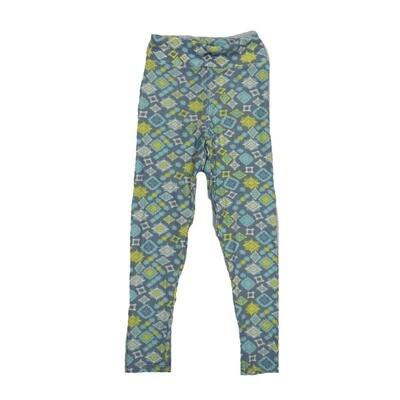 LuLaRoe Kids Small-Medium Geometric Polka Dot Leggings ( S/M fits kids 2-8 ) SM-1002-Z