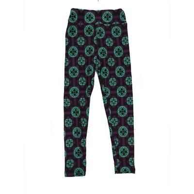 LuLaRoe Kids Small-Medium Geometric Polka Dot Leggings ( S/M fits kids 2-8 ) SM-1004-Z