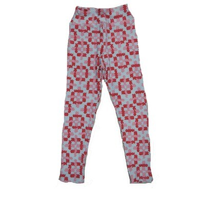 LuLaRoe Kids Small-Medium Geometric Polka Dot Leggings ( S/M fits kids 2-8 ) SM-1008-K