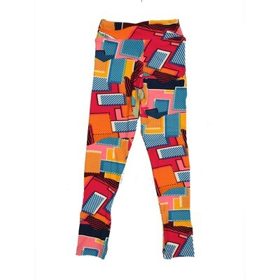 LuLaRoe Kids Small-Medium Geometric Polka Dot Leggings ( S/M fits kids 2-8 ) SM-1004-R