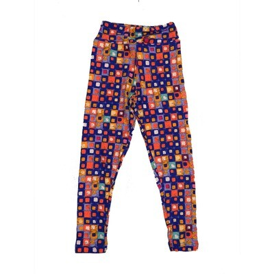 LuLaRoe Kids Small-Medium Geometric Polka Dot Leggings ( S/M fits kids 2-8 ) SM-1004-K