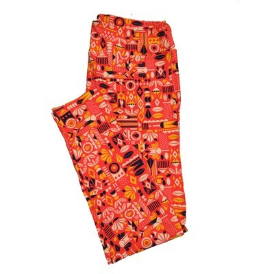 LuLaRoe TC2 Geometric Leggings (TC2 fits sizes 18+) 9002-W