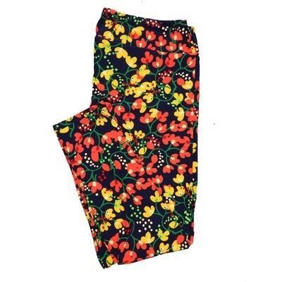 LuLaRoe TC2 Floral Leggings (TC2 fits sizes 18+) 9000-E
