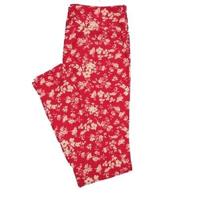 LuLaRoe TC2 Floral Leggings (TC2 fits sizes 18+) 9000-B