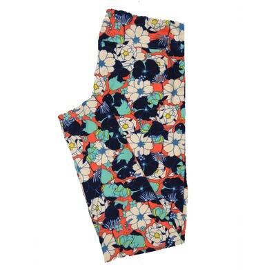 LuLaRoe TC2 Floral Leggings (TC2 fits sizes 18+) 9000-H