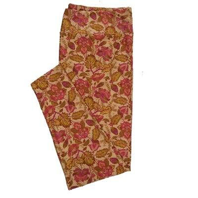 LuLaRoe TC2 Floral Leggings (TC2 fits sizes 18+) 9000-Y