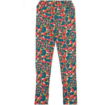 LuLaRoe Kids Large-XL Beach Ball Polka Dot Rainbow Leggings ( L/XL fits kids 8-14) LXL-2004-C4