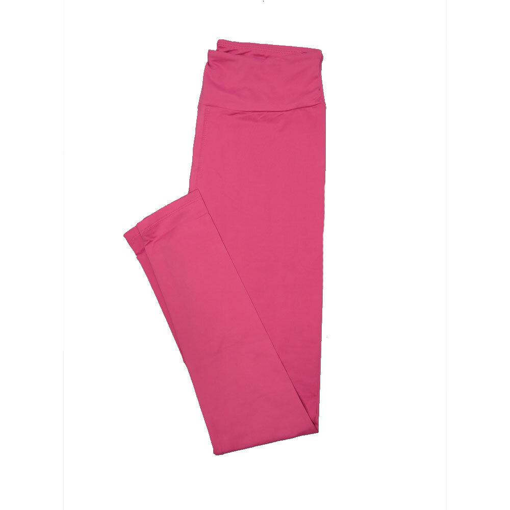 LuLaRoe Tall Curvy TC Solid Dusty Rose (172520) Womens Leggings fits Adult sizes 12-18