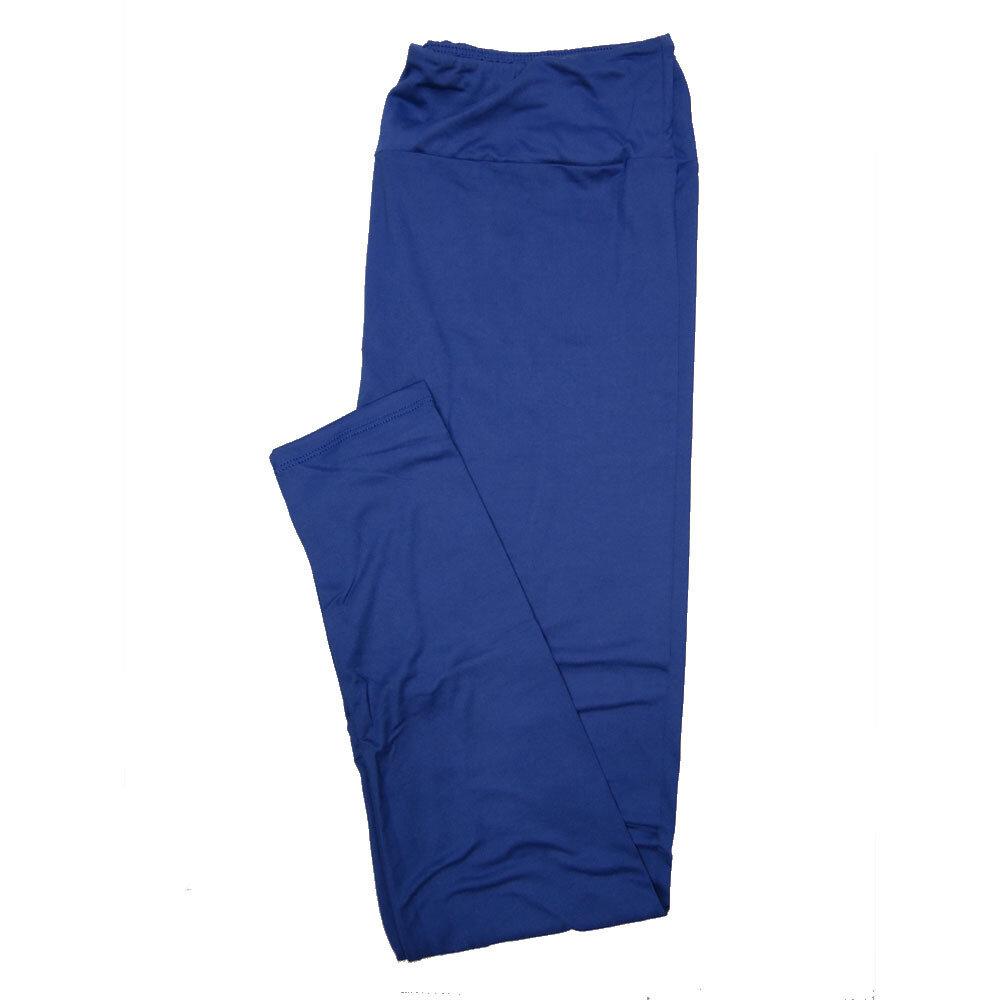 LuLaRoe Tall Curvy TC Solid Royal Blue (385-49074) Womens Leggings fits Adult sizes 12-18