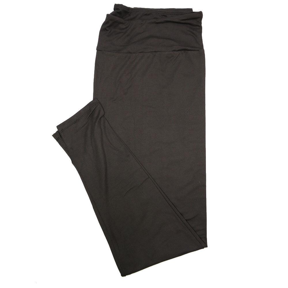 LuLaRoe TC2 Solids Black (519541) Leggings (Tall Curvy 2 fits Sizes 18+)