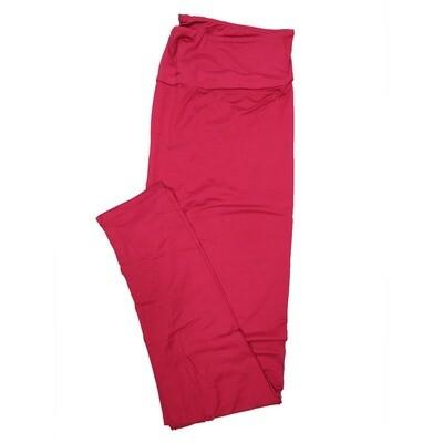 LuLaRoe Tall Curvy TC Solid Dark Fucshia (257510) Womens Leggings fits Adult sizes 12-18