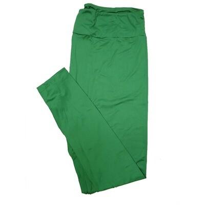 LuLaRoe TC2 Solids Emerald Green (423356) Leggings (Tall Curvy 2 fits Sizes 18+)