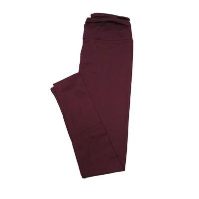 LuLaRoe TC2 Solids Potent Purple (192520) Leggings (Tall Curvy 2 fits Sizes 18+)