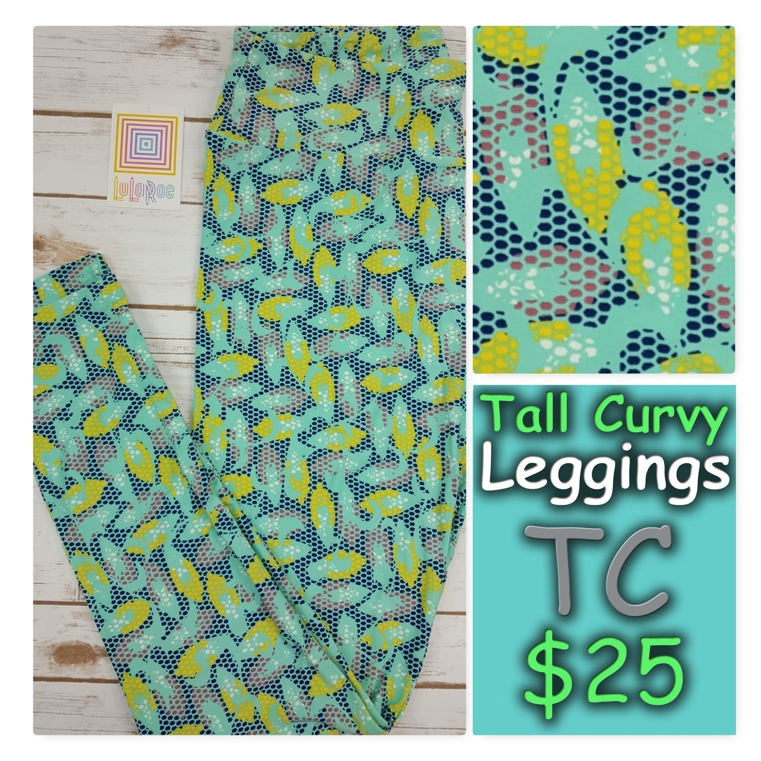 Tall and Curvy (TC) Animals and Objects LuLaRoe Leggings