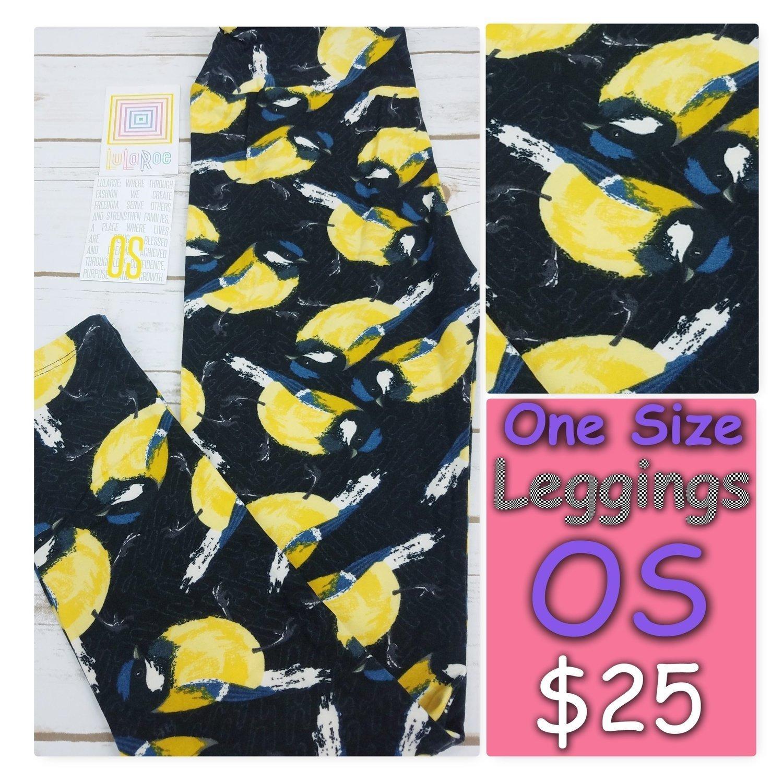 One Size (OS) Animals and Objects LuLaRoe Leggings