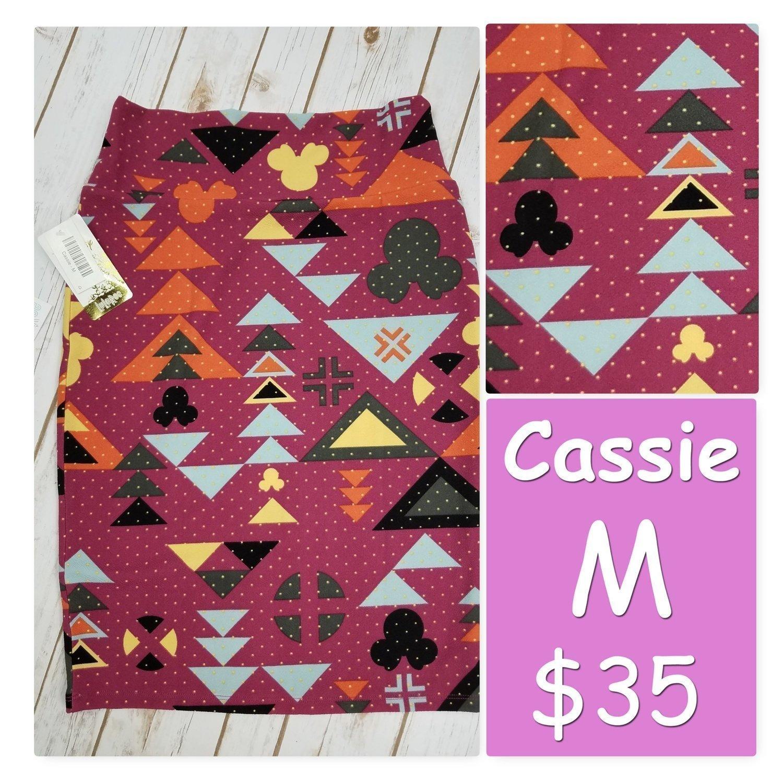 Cassie Medium (M) LuLaRoe Womens Skirt