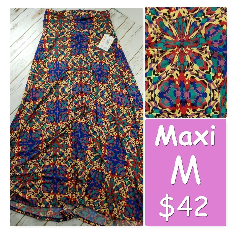 MAXI Medium (M) LuLaRoe Womens Skirt