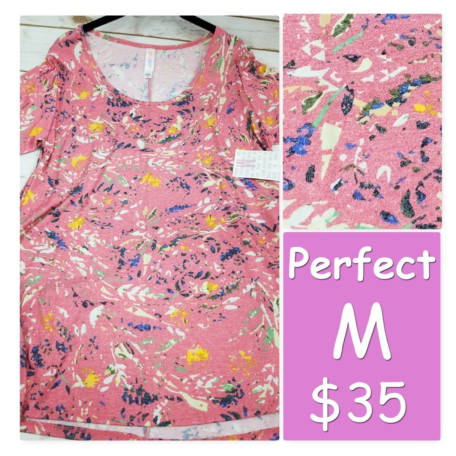 PERFECT Tee Medium (M) LuLaRoe Shirt