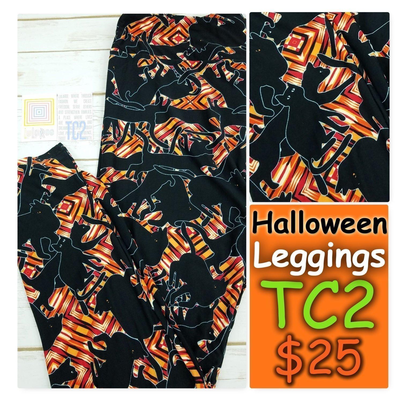 Tall Curvy Two (TC2)) Halloween LuLaRoe Leggings