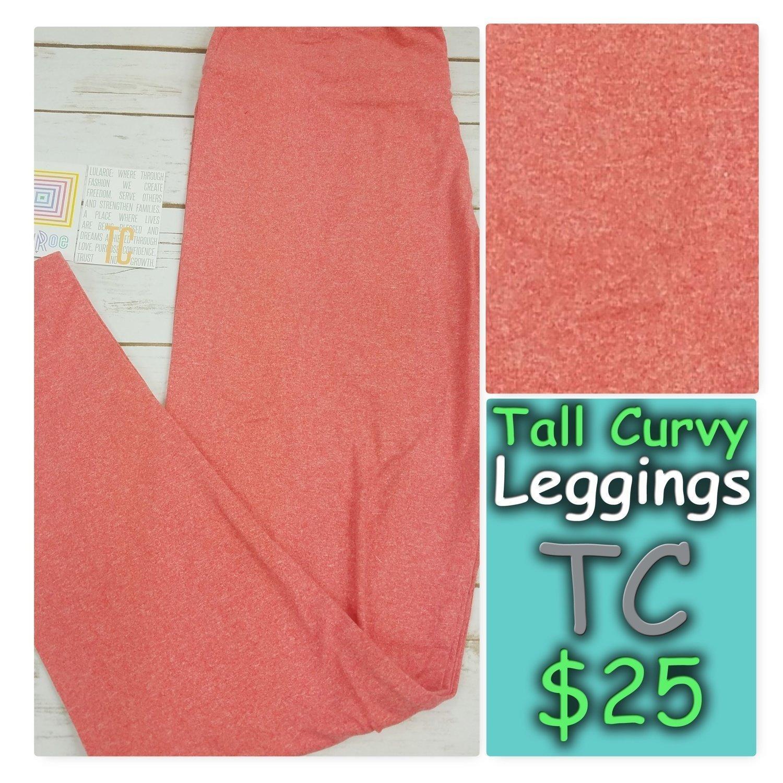 Tall Curvy (TC) Solid LuLaRoe Leggings