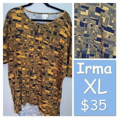 IRMA X-Large (XL) LuLaRoe Womens Tunic