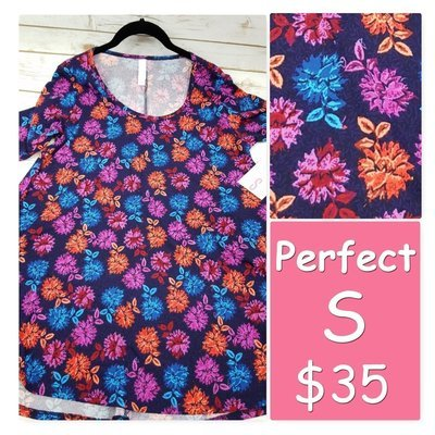 PERFECT Tee Small (S) LuLaRoe Shirt