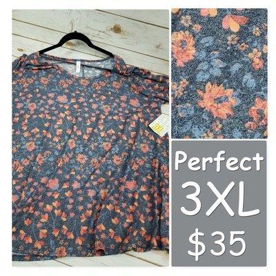 PERFECT Tee XXX-Large (3XL) LuLaRoe Shirt
