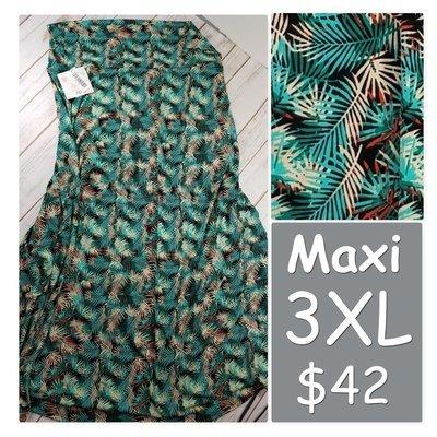 MAXI XXX-Large (3XL) LuLaRoe Womens Skirt