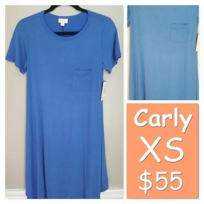 CARLY X-Small (XS) LuLaRoe Womens Dress
