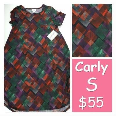 CARLY Small (S) LuLaRoe Womens Dress