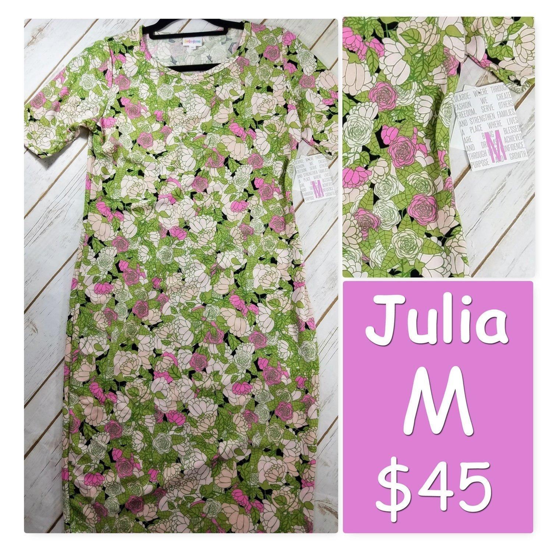 JULIA Medium (M) LuLaRoe Womens Dress
