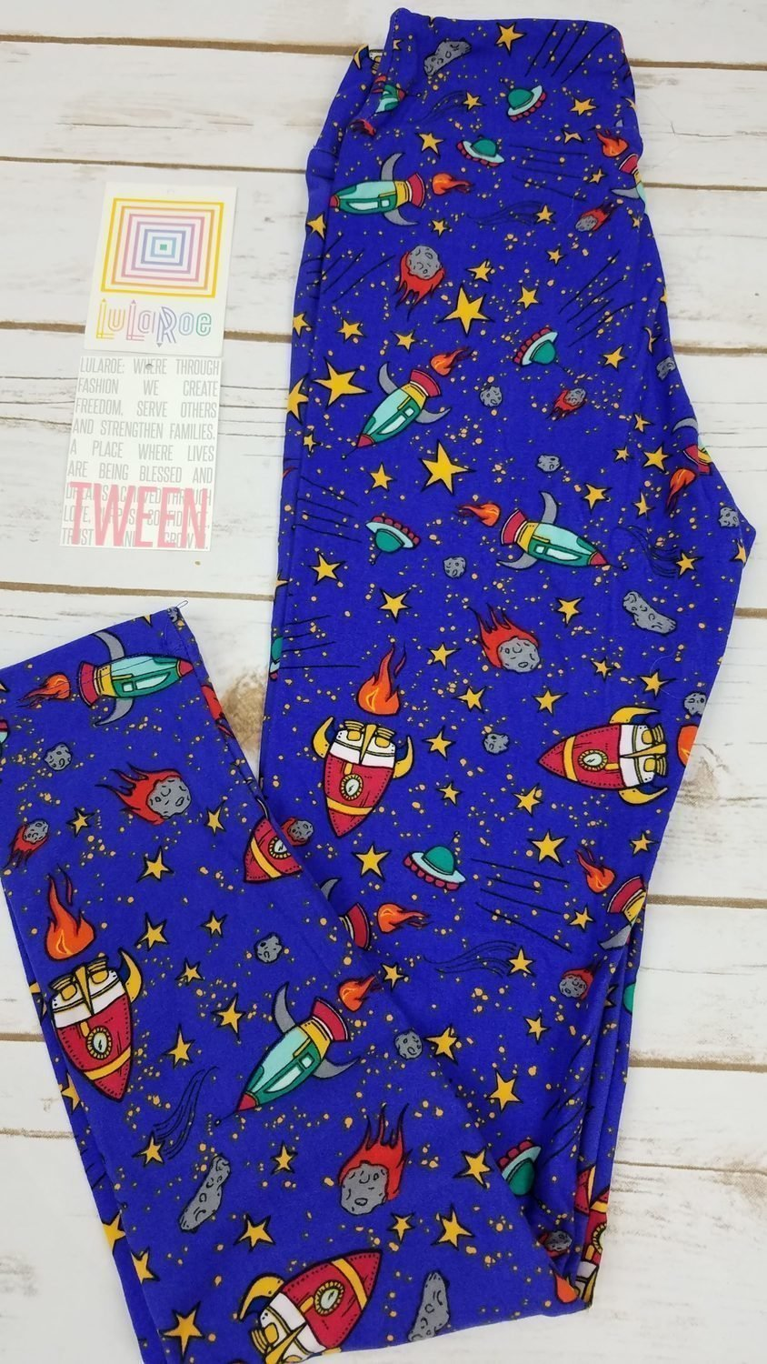 Leggings Kids Adult Tween (Tween) Animals and Objects LuLaRoe Fits Adult Sizes 00-0