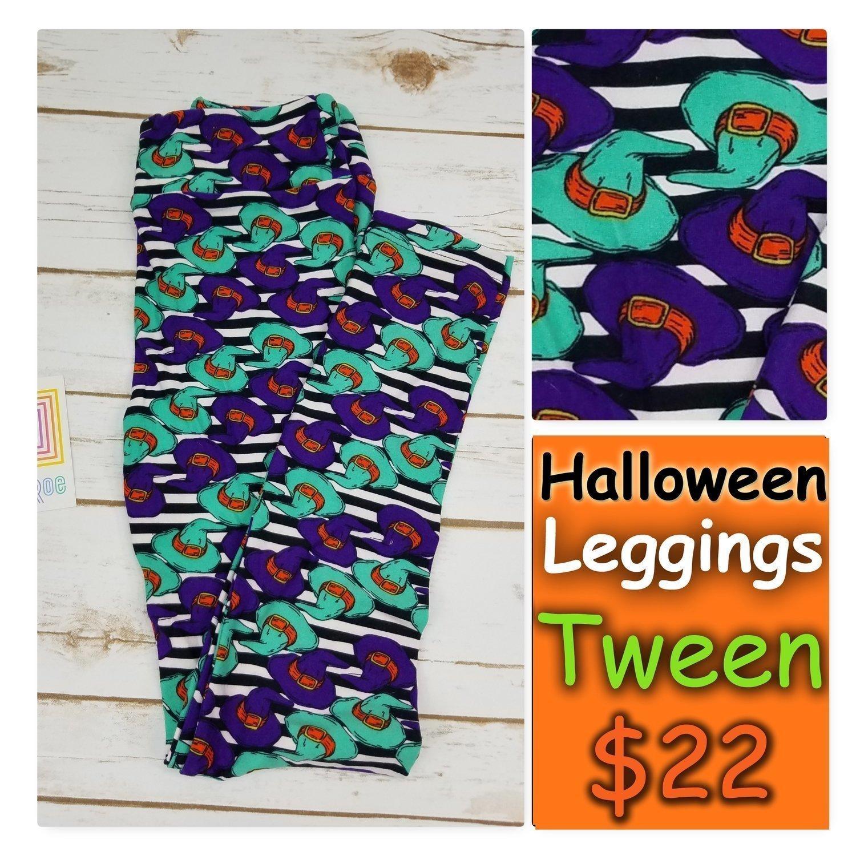 Leggings Kids Adult Tween (Tween) Halloween LuLaRoe Fits Adult Sizes 00-0