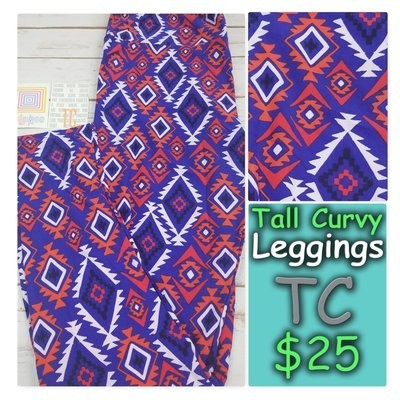 Tall and Curvy (TC) Adult Psychedelic, 70s, Trippy LuLaRoe Leggings