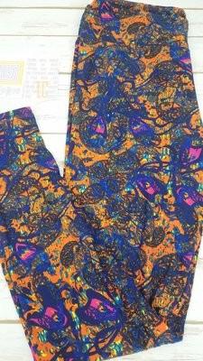 Tall and Curvy (TC) Paisley Adult LuLaroe Leggings