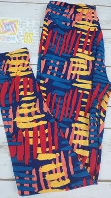One Size (OS) Geometric LuLaRoe Leggings