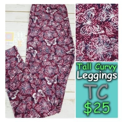 Tall and Curvy (TC) Animals, Stars and Objects LuLaRoe Leggings
