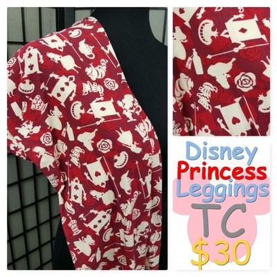 Tall and Curvy (TC) Disney Adult LuLaRoe Leggings